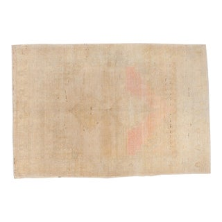 """Distressed Oushak Rug - 5' X 7'6"""" For Sale"""