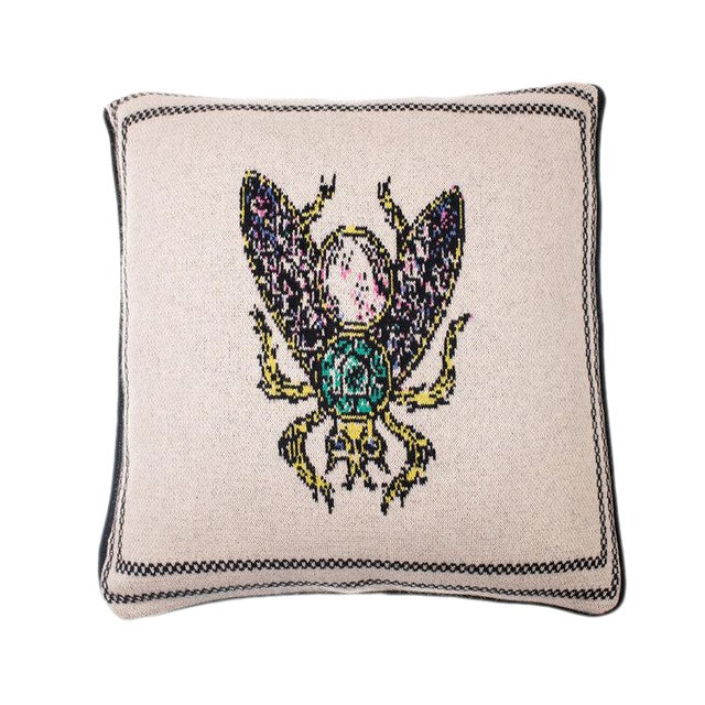 Fee Greening - Bee Cashmere Pillow For Sale