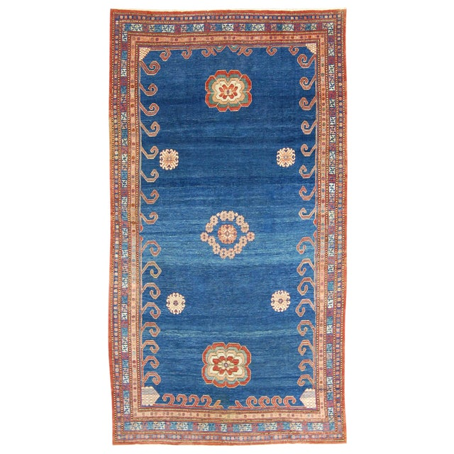Kashgar Carpet - 7′1″ × 12′5″ For Sale