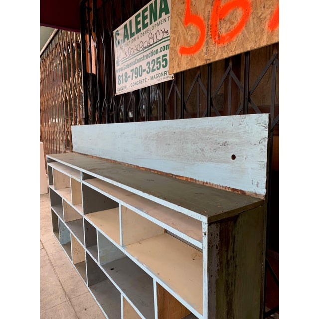 1950s 1950's Industrial Style Custom Made Cabinet For Sale - Image 5 of 9