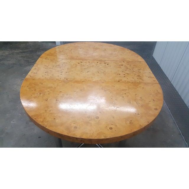 Mid-Century Modern Milo Baughman Dinner Table . For Sale - Image 11 of 13