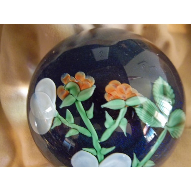 Orient Flume Crystal Cased B Sillars Paperweight - Image 7 of 11
