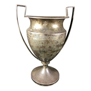 1912 Sterling Silver Horticultural Trophy