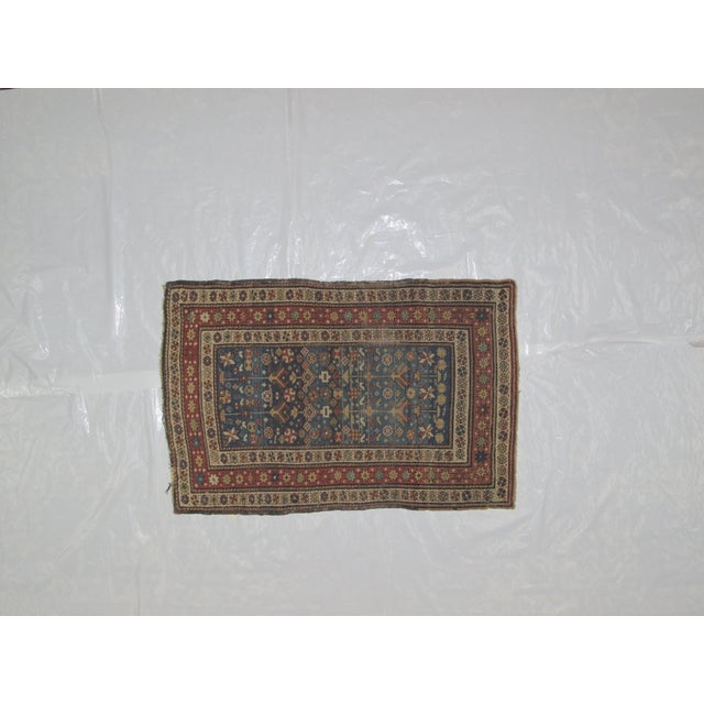 """Antique Russian Shirvan Rug - 3' X 4'6"""" - Image 2 of 6"""