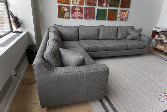 Dwell Studio Two Piece Sectional Sofa   Image 3 Of 10