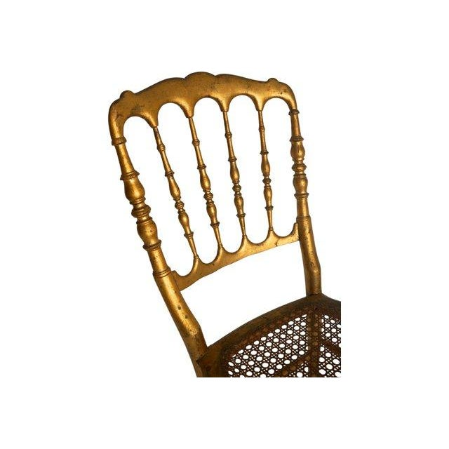 Vintage Chiavari Style Gold Chair - Image 3 of 5