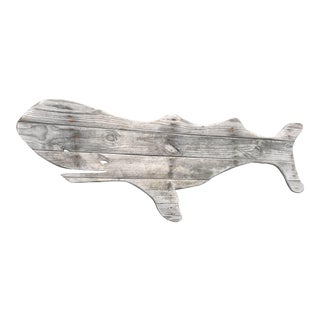 Driftwood Whale Hand Made by John Scarola For Sale