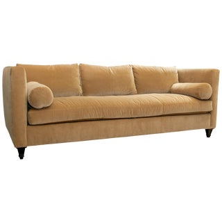 Lillian August Couture Kravet Fabric Sofa For Sale