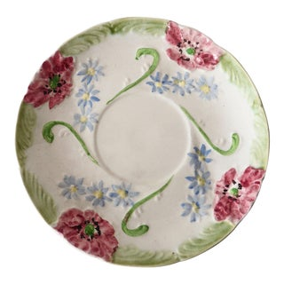 Longchamp Majolica Flowers Plate