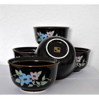 Chakaiseki Japanese Lidded Bowls - Set of 5 Preview