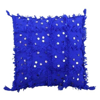 """Late 20th Century Moroccan Pillow - 19"""" X 19"""" For Sale"""