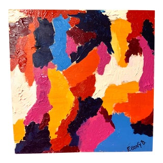 Ebony B. Contemporary Abstract Painting For Sale