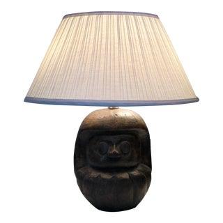 Mid Century Plaster Monkey Lamp For Sale