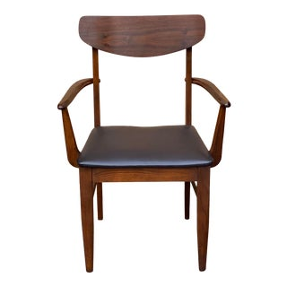 Mid Century Arm Chair For Sale
