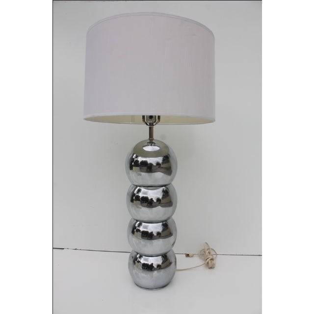 George Kovacs George Kovacs Stacking Chrome Ball Lamp For Sale - Image 4 of 7
