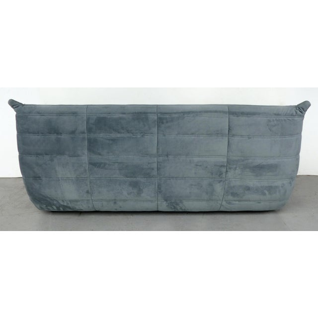 Late 20th Century Michel Ducaroy for Ligne Roset 'France' Togo Three-Seat Sofa For Sale - Image 5 of 9