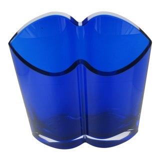 Cobalt Blue Norwegian Vase