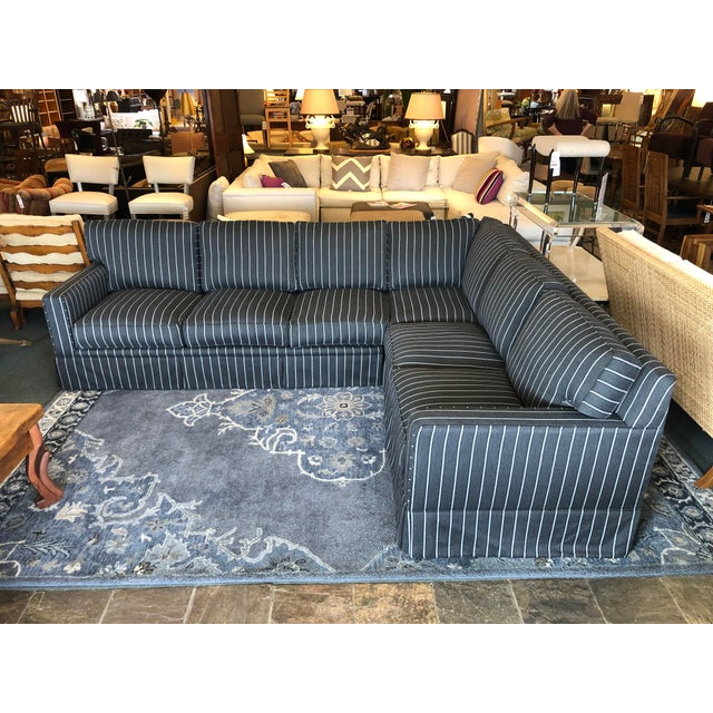 Contemporary New Custom Jasper Sectional by California Sofa For Sale - Image 3 of 13