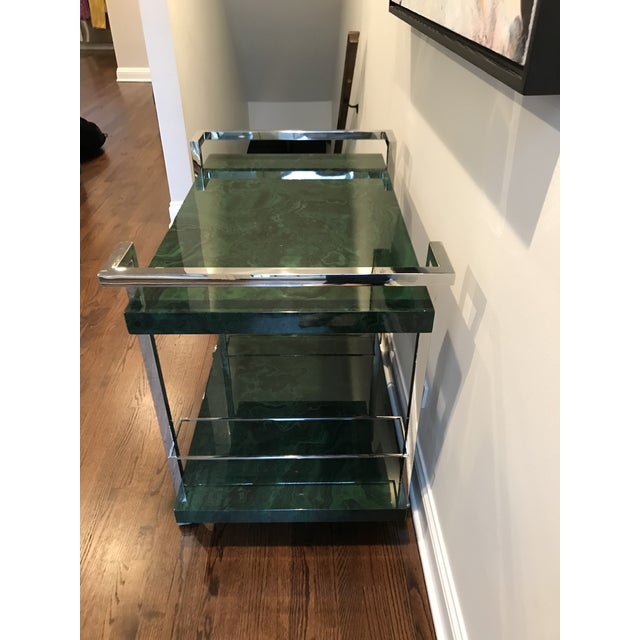 Maddox Maln Bar Cart For Sale - Image 10 of 13
