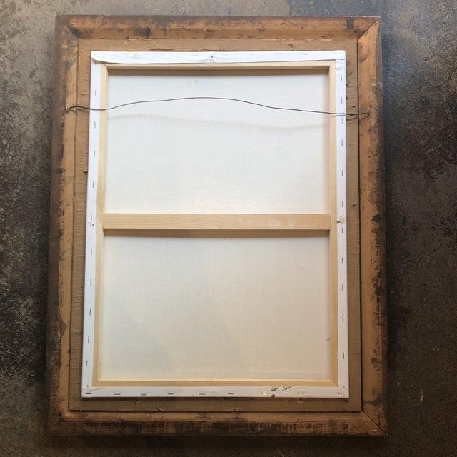 2010s Original Contemporary Stewart Ross Modernist Still Life Painting Vintage Frame For Sale - Image 5 of 6
