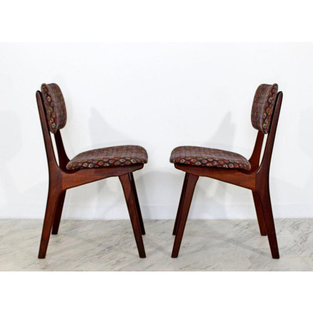 CFC Silkeborg Mid-Century Modern Arne Hovmand Olsen Danish Teak Dining Chairs - Set of 6 For Sale - Image 4 of 10