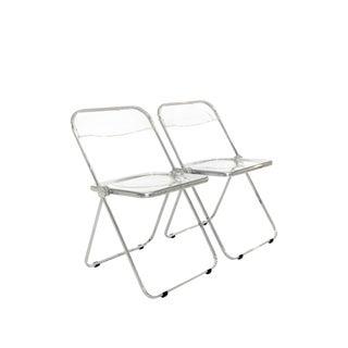 Giancarlo Piretti Folding Chairs - A Pair