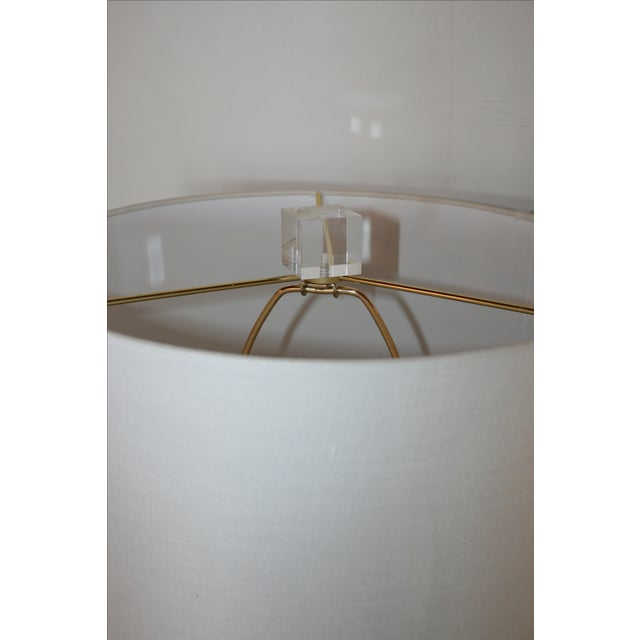 Modern Mason Marble Stack Lamp For Sale - Image 3 of 6