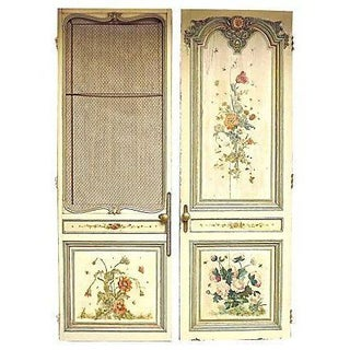 Antique French Salon Doors - A Pair For Sale