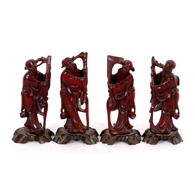 Chinese Immortals - Set of 4 - Image 1 of 7