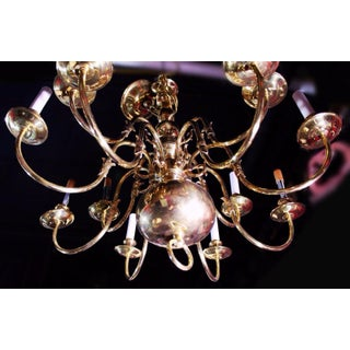Colonial Williamsburg Brass Chandelier Preview