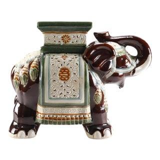Classic Ceramic Elephant Figurine