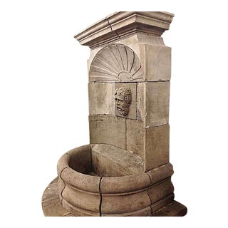 Antique Bacchus Wall Fountain