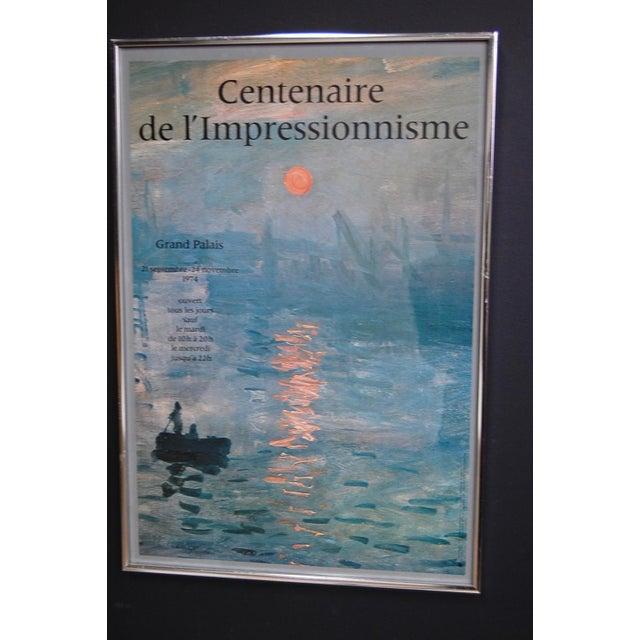 """""""Centenaire de l'impressionnisme"""" Framed Grand Palais Exhibition Poster - Image 7 of 7"""