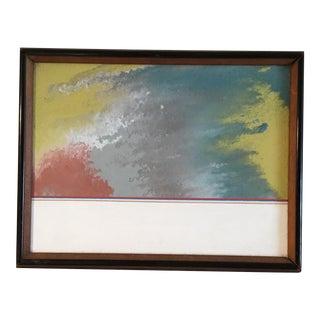 "David Quick ""Winslow Beach"" Acrylic Painting"