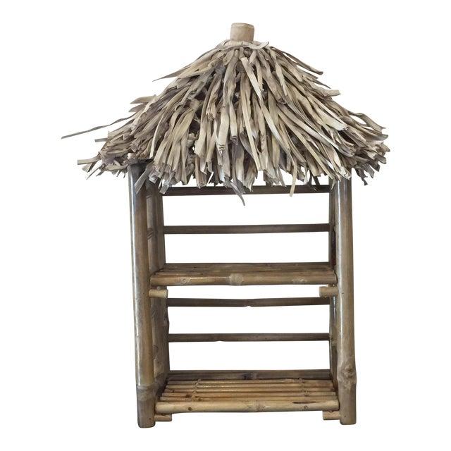 Bamboo Tiki Display Shelves - Image 1 of 9