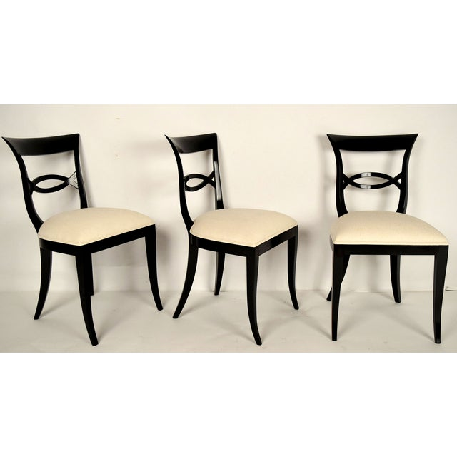 Regency-Style Dining Chairs - Set of 6 - Image 3 of 9