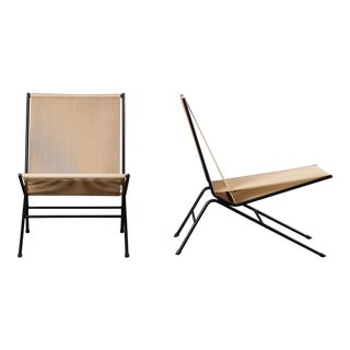 1952 Allan Gould String Mid-Century Modern Lounge Chairs - a Pair For Sale