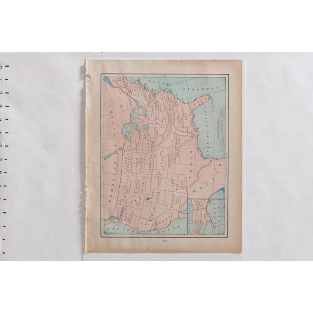 Cram's 1907 Map of Usa For Sale In New York - Image 6 of 7