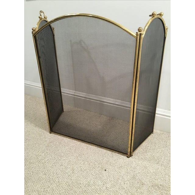 Antique Arched Fire Screen - Image 3 of 4