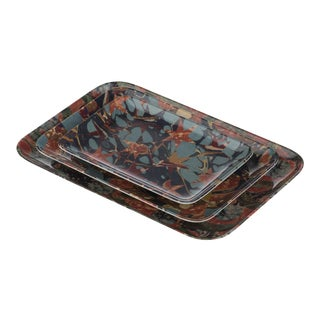 Studiolo Tray Set- 3 Pieces For Sale