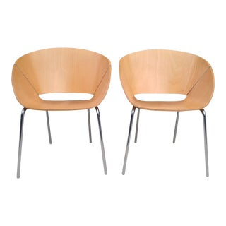 Wolfgang Mezger for DavisModeren Lipse Chairs - A Pair