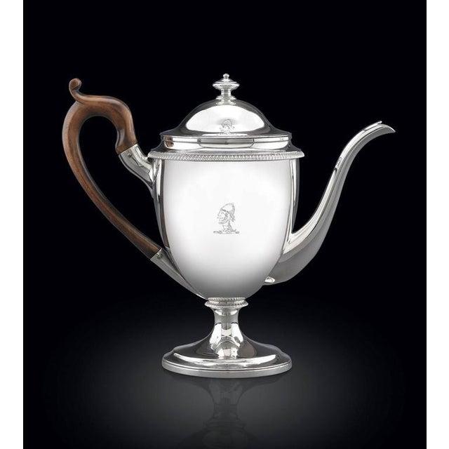 Metal Silver Argyle Pot by Garrard For Sale - Image 7 of 8