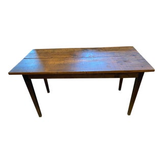 Antique French Farm Table For Sale