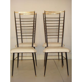 Vintage Italian Dining Chairs - Set of 4 Preview