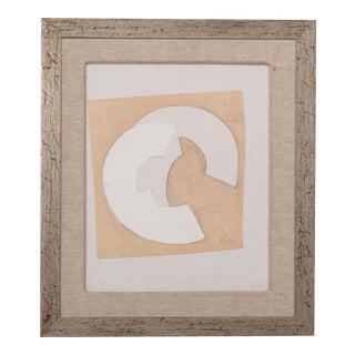 An Abstract Collage by Hans Richter, initialled and Dated 1967 For Sale