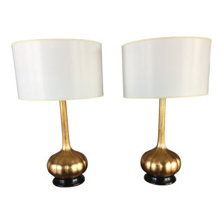 Modern Table Lamps - A Pair For Sale