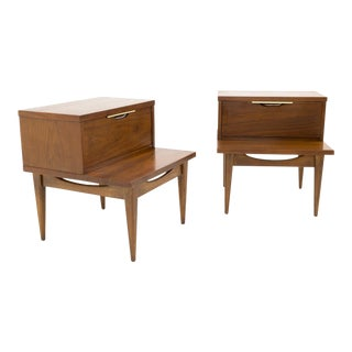 Vintage Mid-Century Kent Coffey Tableau Nightstands - A Pair For Sale