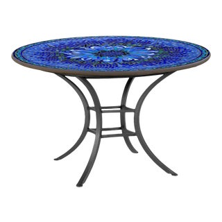 """Bella Bloom 42"""" Bistro Table with Black Base For Sale"""
