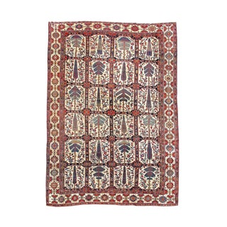 Finely Detailed Bakhtiari Rug For Sale