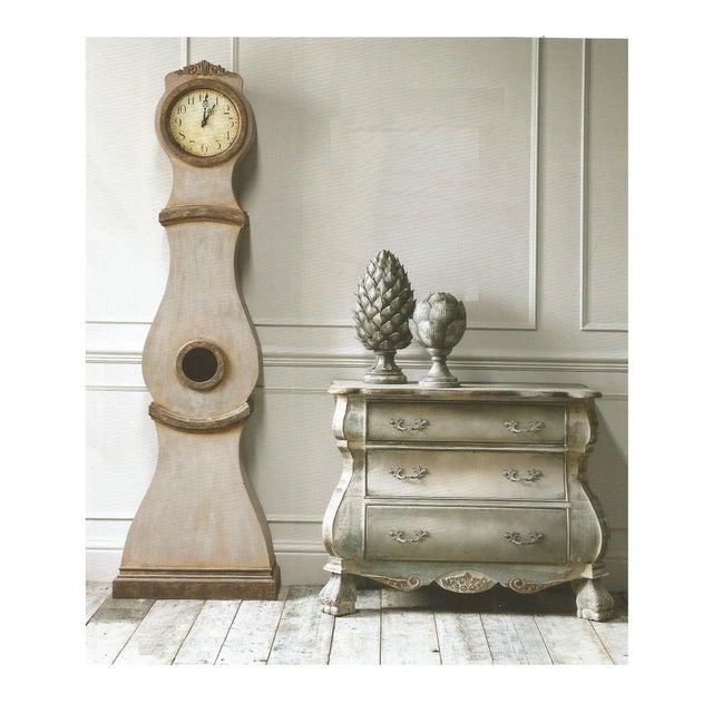 Gustavian (Swedish) Reproduction Swedish Mora Clock For Sale - Image 3 of 5